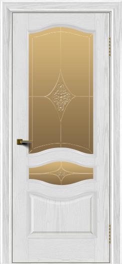 Двери ЛайнДор Амелия тон 38 стекло Амелия бронза
