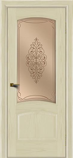 Двери ЛайнДор Анталия тон 34 стекло Вива