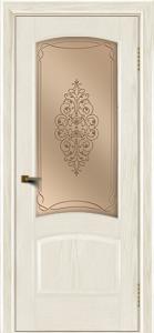 Двери ЛайнДор Анталия тон 36 стекло Вива