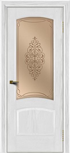 Двери ЛайнДор Анталия тон 38 стекло Вива
