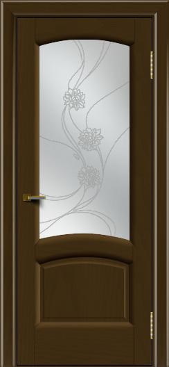 Двери ЛайнДор Анталия 2 тон 29 стекло Астра наливка
