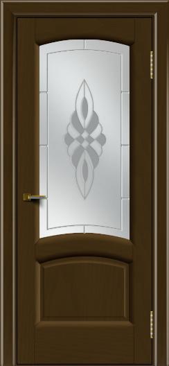 Двери ЛайнДор Анталия 2 тон 29 стекло Византия