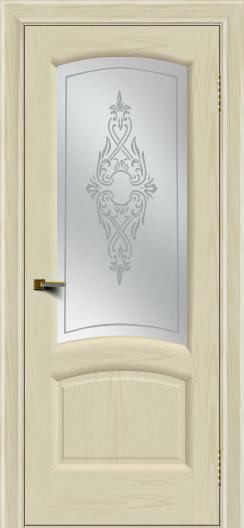 Двери ЛайнДор Анталия 2 тон 34 стекло Айрис сатин