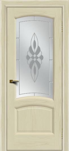 Двери ЛайнДор Анталия 2 тон 34 стекло Византия