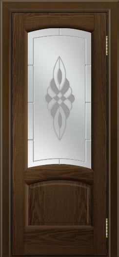 Двери ЛайнДор Анталия 2 тон 35 стекло Византия