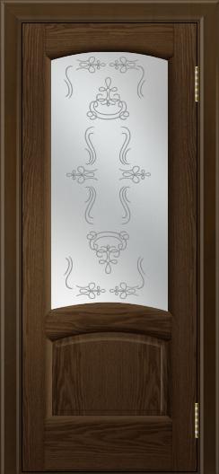 Двери ЛайнДор Анталия 2 тон 35 стекло Пальмира