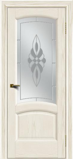 Двери ЛайнДор Анталия 2 тон 36 стекло Византия