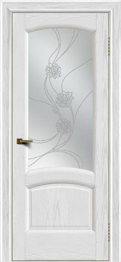 Двери ЛайнДор Анталия 2 тон 38 стекло Астра наливка