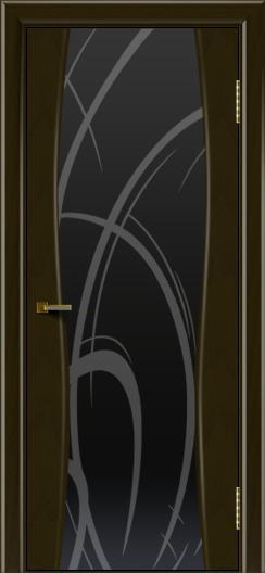Двери ЛайнДор Арабика тон 35 стекло Арабика