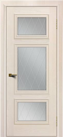 Двери ЛайнДор Афина Жемчуг тон 27 стекло Лондон