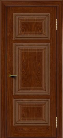 Двери ЛайнДор Афина красное дерево тон 10 глухая