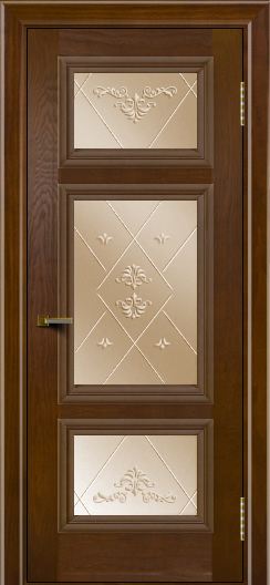 Двери ЛайнДор Афина тон 30 стекло Прима бронза