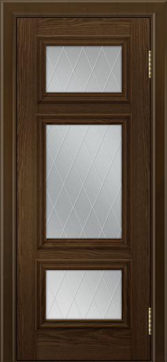 Двери ЛайнДор Афина тон 35 стекло Лондон