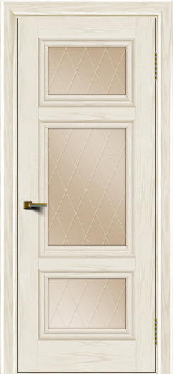 Двери ЛайнДор Афина тон 36 стекло Лондон бронза