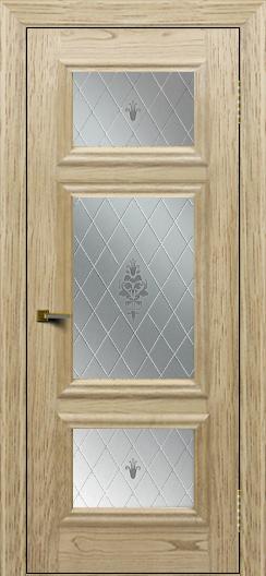 Двери ЛайнДор Афина тон 40 стекло Лилия