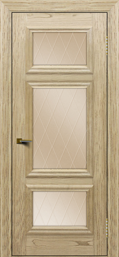 Двери ЛайнДор Афина тон 40 стекло Лондон бронза