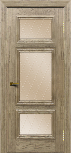 Двери ЛайнДор Афина тон 41 стекло Лондон бронза