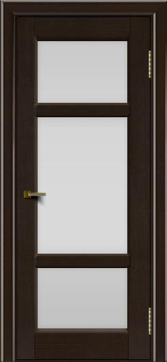 Двери ЛайнДор Афина 2 венге тон 12 стекло белое полное