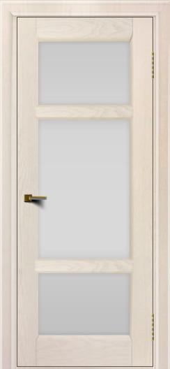 Двери ЛайнДор Афина 2 жемчуг тон 27 стекло белое полное