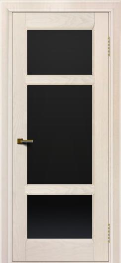 Двери ЛайнДор Афина 2 жемчуг тон 27 стекло черное полное