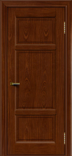 Двери ЛайнДор Афина 2 красное дерево тон 10 глухая