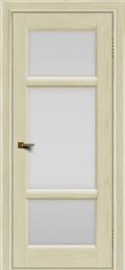 Двери ЛайнДор Афина 2 тон 34 стекло белое полное