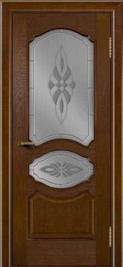 Двери ЛайнДор Богема тон 30 стекло Византия