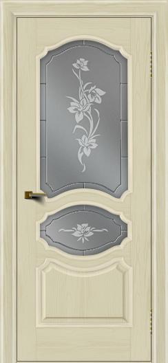 Двери ЛайнДор Богема тон 34 стекло Рим