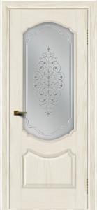 Двери ЛайнДор Богема тон 36 стекло Вива сатин