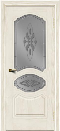 Двери ЛайнДор Богема тон 36 стекло Византия