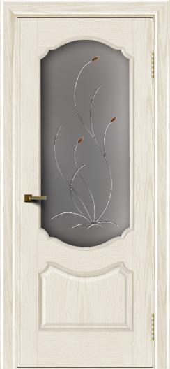 Двери ЛайнДор Богема тон 36 стекло Ковыль