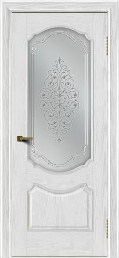 Двери ЛайнДор Богема тон 38 стекло Вива сатин