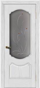 Двери ЛайнДор Богема тон 38 стекло Ковыль