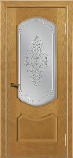 Двери ЛайнДор Богема ясень тон 24 стекло Вива сатин