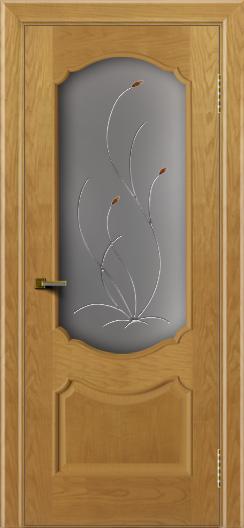 Двери ЛайнДор Богема ясень тон 24 стекло Ковыль