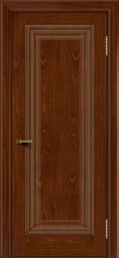 Двери ЛайнДор Валенсия красное дерево тон 10 глухая