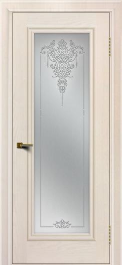 Двери ЛайнДор Валенсия тон 27 стекло Версаль