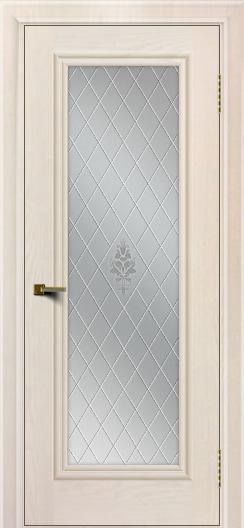 Двери ЛайнДор Валенсия тон 27 стекло Лилия