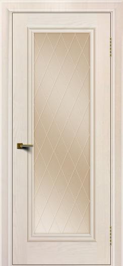 Двери ЛайнДор Валенсия тон 27 стекло Лондон бронза