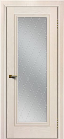 Двери ЛайнДор Валенсия тон 27 стекло Лондон