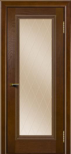Двери ЛайнДор Валенсия тон 30 стекло Лондон бронза