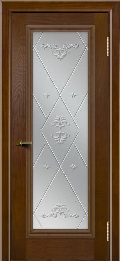 Двери ЛайнДор Валенсия тон 30 стекло Прима