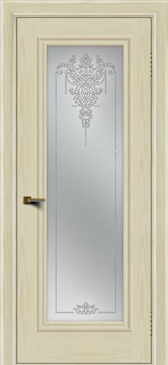 Двери ЛайнДор Валенсия тон 34 стекло Версаль