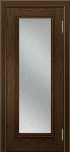 Двери ЛайнДор Валенсия тон 35 стекло Лондон