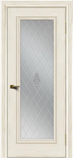 Двери ЛайнДор Валенсия тон 36 стекло Лилия