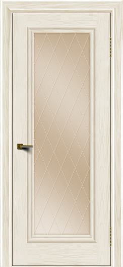 Двери ЛайнДор Валенсия тон 36 стекло Лондон бронза