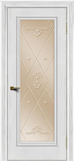 Двери ЛайнДор Валенсия тон 38 стекло Прима бронза