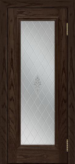 Двери ЛайнДор Валенсия тон 39 стекло Лилия