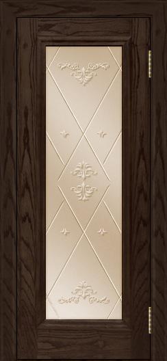 Двери ЛайнДор Валенсия тон 39 стекло Прима бронза