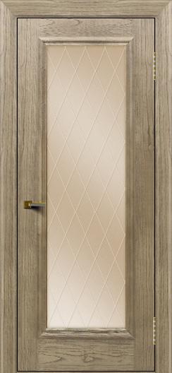 Двери ЛайнДор Валенсия тон 41 стекло Лондон бронза